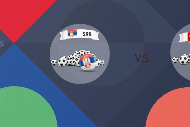 UEFA Nations League Serbia vs Montenegro
