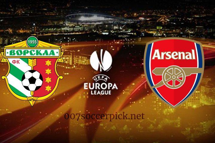 Vorskla vs Arsenal Europa League