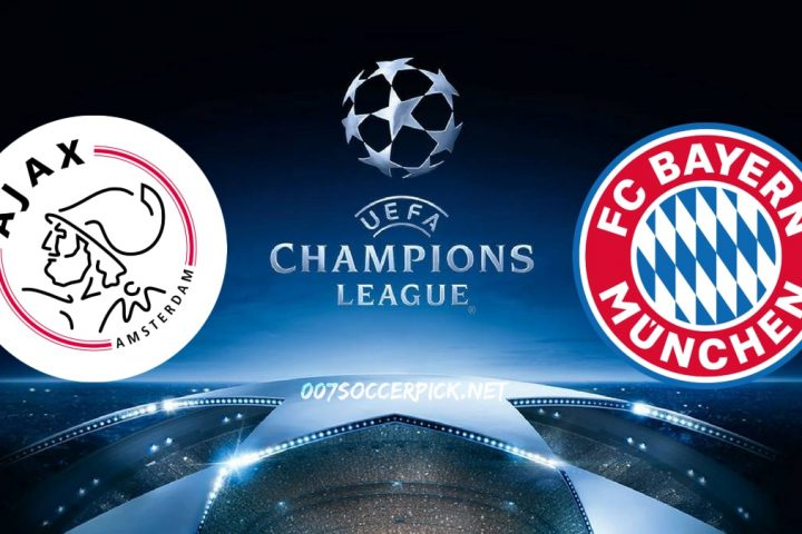 Ajax vs Bayern Munchen Champions League