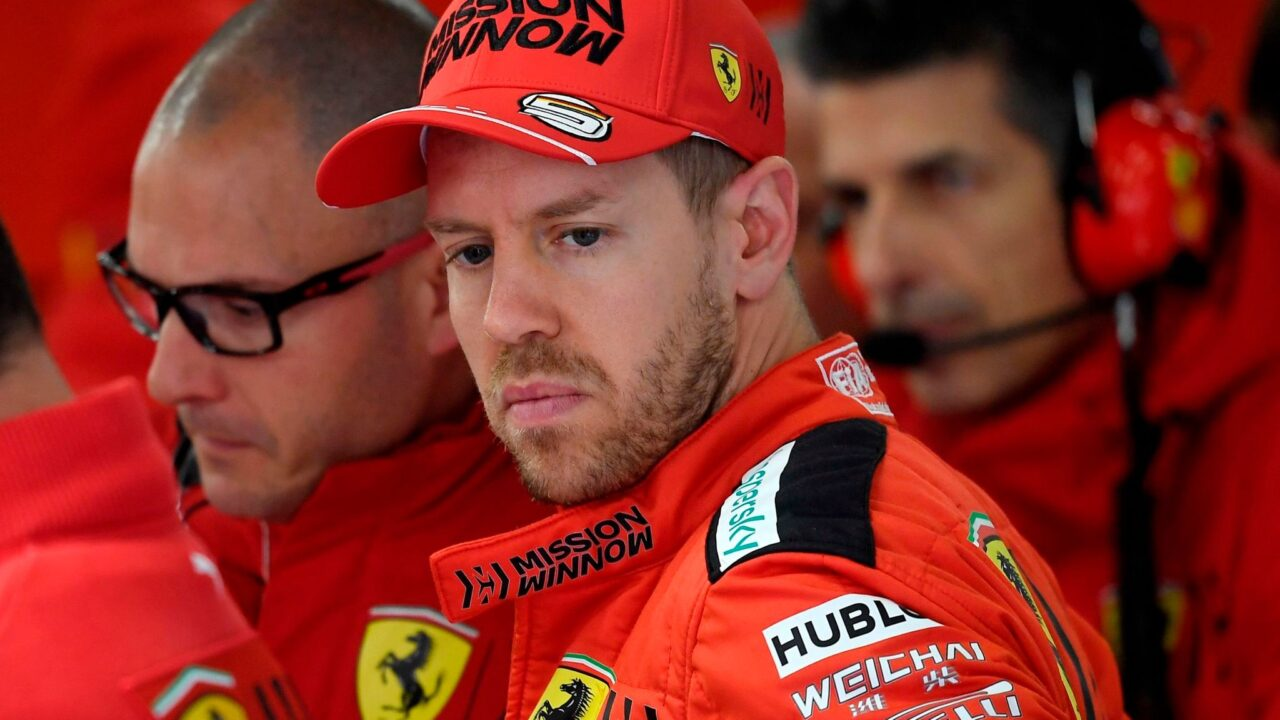Sebastian Vettel out of Ferrari in 2021